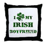 Irish Boyfriend Throw Pillow