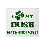 Irish Boyfriend Throw Blanket