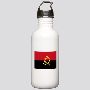 Angola Flag Stainless Water Bottle 1.0L