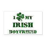 Irish Boyfriend 20x12 Wall Decal