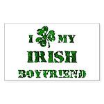 Irish Boyfriend Sticker (Rectangle)