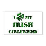 Irish Girlfriend 20x12 Wall Decal