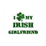 Irish Girlfriend 35x21 Wall Decal