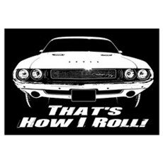 How I Roll - Challenger Wall Art Framed Print
