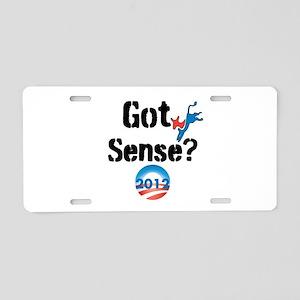 Got Sense? 2012 Aluminum License Plate