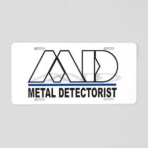 MD - Metal Detectorist(Hollo Aluminum License Plat