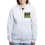 Pony women's zip hoodie