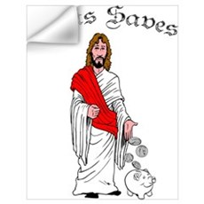 Jesus Saves Wall Art Wall Decal