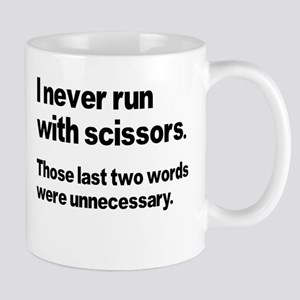 I Never Run Mug
