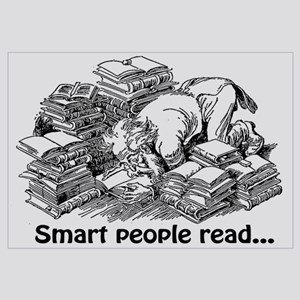 Smart People Read Wall Art