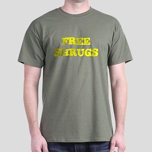 Free Shrugs Dark T-Shirt