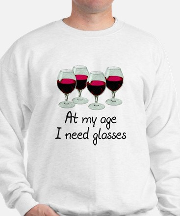 At my age I need glasses Jumper