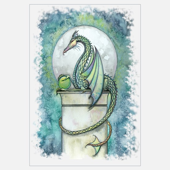Green Dragon Wall Art