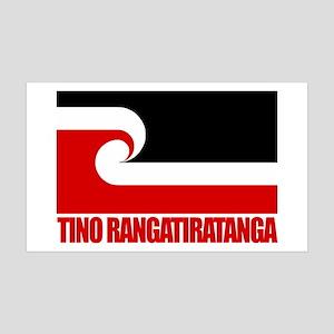 """Tino Rangatiratanga"" 38.5 x 24.5 Wall Peel"