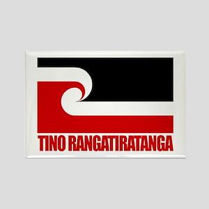 """Tino Rangatiratanga"" Rectangle Magnet"