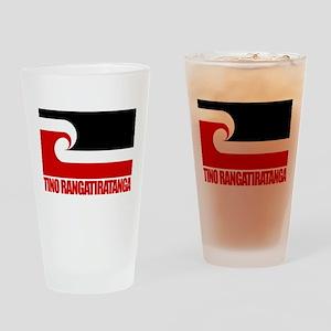 """""""Tino Rangatiratanga"""" Drinking Glass"""