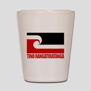 """Tino Rangatiratanga"" Shot Glass"