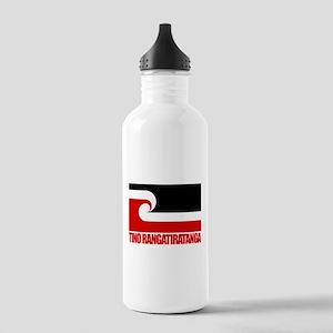 """Tino Rangatiratanga"" Stainless Water Bottle 1.0L"