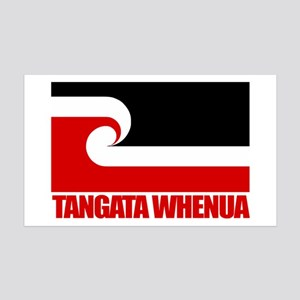 """Tangata Whenua"" 38.5 x 24.5 Wall Peel"