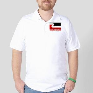 """Tangata Whenua"" Golf Shirt"