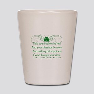 Irish Blessing Shot Glass