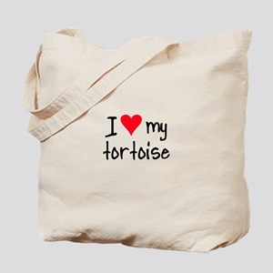 I LOVE MY Tortoise Tote Bag