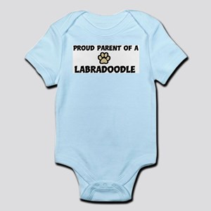 Proud Parent: Labradoodle Infant Creeper