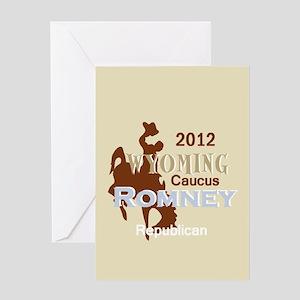 Romney WYOMING Greeting Card