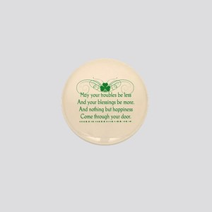 Irish Blessing Mini Button
