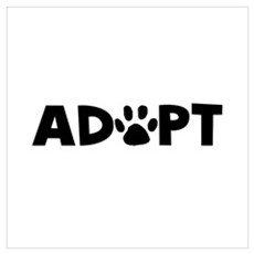 Adopt Wall Art Poster