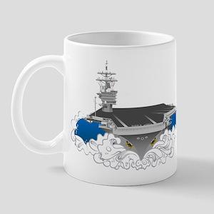 CVN-76 USS Reagan Mug