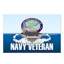 CVN-76 USS Reagan Postcards (Package of 8)
