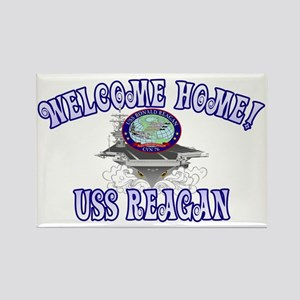 Welcome USS Reagan! Rectangle Magnet