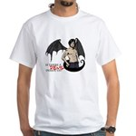 Is there a Devil inside of you? - White T-Shirt