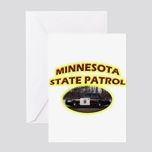 Minnesota State Patrol Greeting Card
