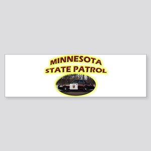 Minnesota State Patrol Sticker (Bumper)