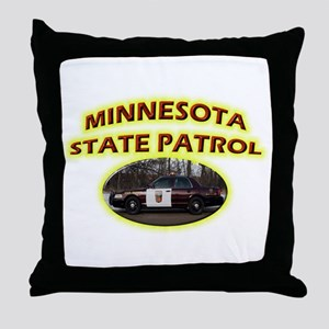 Minnesota State Patrol Throw Pillow