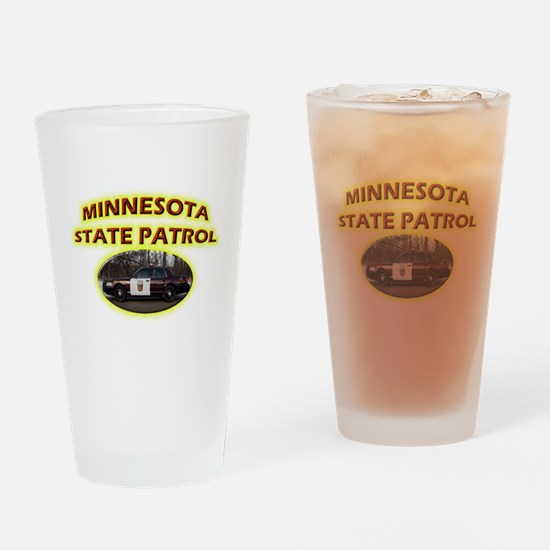Minnesota State Patrol Drinking Glass