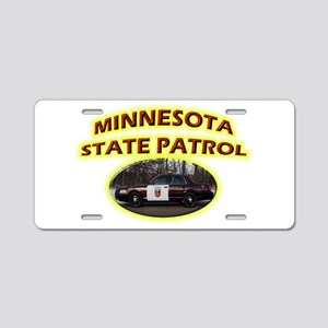 Minnesota State Patrol Aluminum License Plate