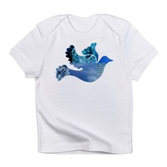 Blue Bird - Dove in flight Infant T-Shirt
