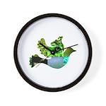 Green Bird Design - Flying Do Wall Clock