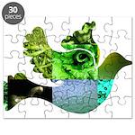 Green Bird Design - Flying Do Puzzle