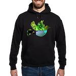 Green Bird Design - Flying Do Hoodie (dark)