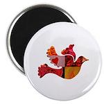 Red Bird Dove Flight Magnet