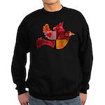 Red Bird Dove Flight Sweatshirt (dark)