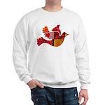 Red Bird Dove Flight Sweatshirt
