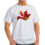 Red Bird Dove Flight Light T-Shirt
