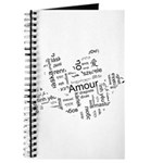 Love Dove - Words for love in Journal