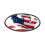 USA American Flag Freedom Dov Patches