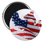 USA American Flag Freedom Dov Magnet